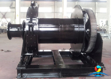 China 20KN 30KN Single / Double Drum Hydraulic Electric Anchor Winch 14MPa 31L / Min supplier