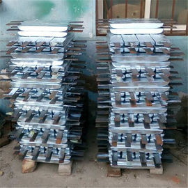 China Silver Marine Anode Outfitting Equipment Aluminum Zinc Anode Wear Resistant supplier