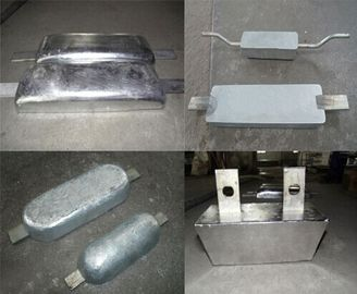 China New Arrived Zinc Marine Anode Outfitting Equipment Aluminum Zinc Anode Wear Resistant supplier