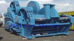 China Electric Hydraulic / Engine Hydraulic Anchor Handling / Towing Winch With 400KN-2500KN Drum Load supplier