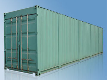 China ISO Aluminum Frame 40 Foot Car Shipping  Containers With Hinged Gates supplier