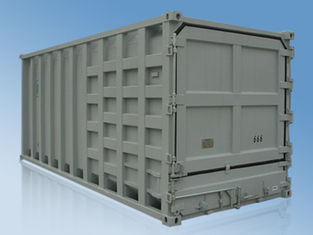 China 20' Rubbish Carrier Container Standard Shipping Container With Double Seals supplier