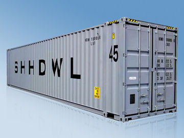 China 45 Feet Pallet Extra Wide Shipping Container Aluminum 13716x2500x2896mm supplier