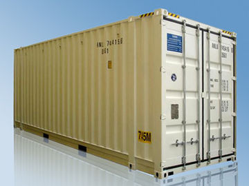 China Aluminum Standard Shipping Container , 7.45m Pallet Wide Container supplier