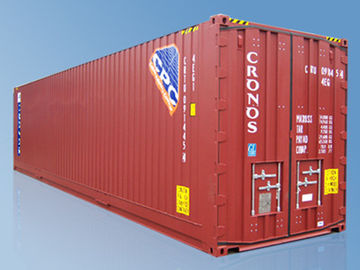 China Slimwall Cellular 40 Ft Pallet Wide Container With Shrinkable Frame supplier
