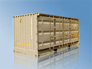 China 20' Ultra Wide Open Side Standard Shipping Container For Logistics supplier