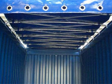 China Aluminum 20 Ft Standard Shipping Container Slide Open Top Container supplier