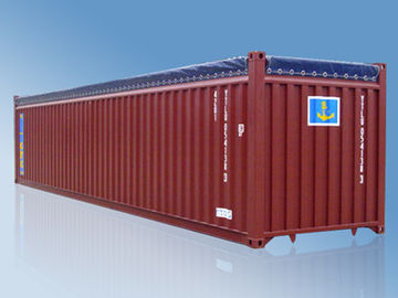 China Soft Roof 40 Foot Dry Cargo Standard Shipping Container Open Top Steel Container supplier
