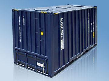China 20' HC Standard Shipping Container , Pallet Wide Dry Bulk Container supplier