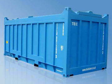 China Hard Roof Open Top Dry Bulk Container , 20 Feet Shipping Container supplier