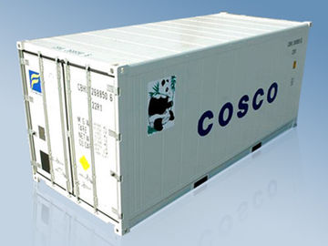 China Standard Durable 20 Ft Reefer Container With Double Rear Doors supplier