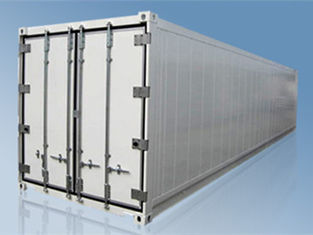 China High Performance 40ft Ultra Liner Reefer Container , Payload 26610KG supplier