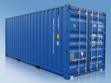 China High Strength Customized 20ft / 40 Foot Shipping Container 6058mm*2438mm*2591mm supplier