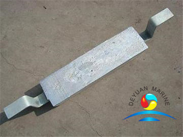 China Outfitting Equipment Zinc Anode  For Storage Tank Marine Zinc anode for sale supplier