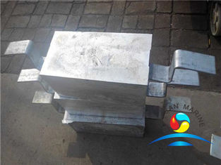 China Zinc Ballast Tank Anodes Outfitting Equipment  For Sales supplier