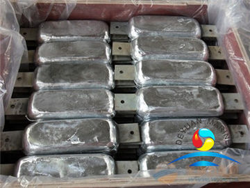 China Marine Silver Anode  Zinc Anode Wear Resistant Outfitting Equipment Aluminum supplier