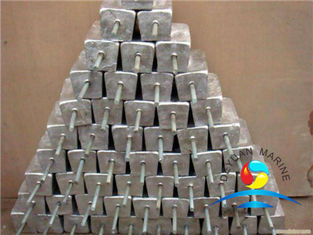 China Zinc Anode For Outfitting Equipment  For  Buried Pipeline supplier