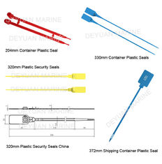 China Fashion  PP Plastic Security Seals Iso Container Parts With Metal Inserted Locking supplier