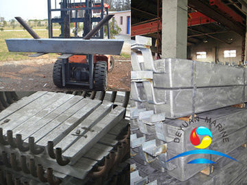 China New!!! Marine Outfitting Equipment  Zinc Anode For Port And Offshore Engineering Facilities supplier