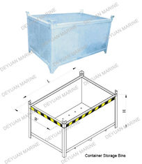 China Painted / Galvanized Shipping Container Parts Container Fixed Parts supplier