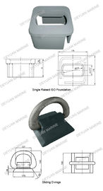 China Single Raised Sliding D-Rings Shipping Container Accessories supplier