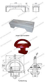 China Socket Type Foundation Shipping Container Parts Lead Fixed  Parts supplier