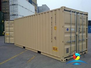 China Standard Dry Cargo 20 Iso Container / 45 Foot Shipping  Container supplier