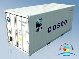 China Carbon Steel Standard Shipping Container 20ft / 40ft For Reefer ISO9001 supplier