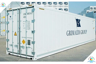 China Insulated Carrier Refrigeration Standard Shipping Container 40ft Reefer Container supplier