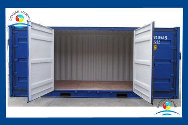 China 20 FT Wind / Water Tight Open Side Standard Shipping Container 6052 X 2438 X 2591mm supplier