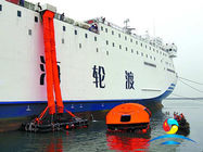 China Doubel Chute Vertical Passage Marine Evacuation System 250 - 700 Persons factory