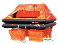 China Hot sale Marine Life Saving Equipment 30 Man Throw Over Board Liferaft factory