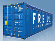 China Logistics 40 Foot Open Top Shipping Container For Oversize Items factory