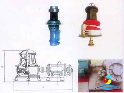 5KN - 20KN Marine Capstan Vertical / Horizontal Type Electric