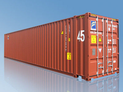 ISO 45ft Standard Shipping Container , Full Access / Swing Door