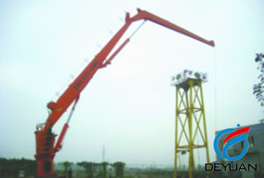 Marine Knuckle Boom Deck / Offshore Cranes KBS For Machinery Equipment