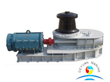 Boat 15KN Wire Drawing Marine Capstan Horizontal Three - Speed