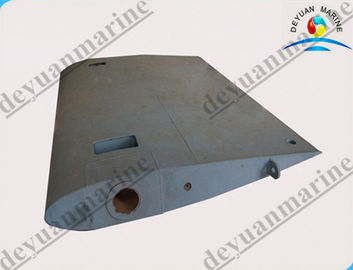 Rudder Blade Marine Hydraulic Steering Gear Alloy Steel High Effective
