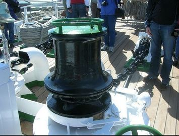 Electric Warping Hawser Marine Capstan With ABS / DNV Certificate