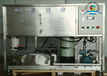 Flexible Reverse Osmosis Fresh Water Generator On Ships With Big Capacity