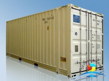 Pallet Wide High Cube Shipping Container , 40 Ft Dry Cargo Container