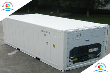 High Strength 20ft Refrigeration Pallet Wide Container Thermo King Reefer Container
