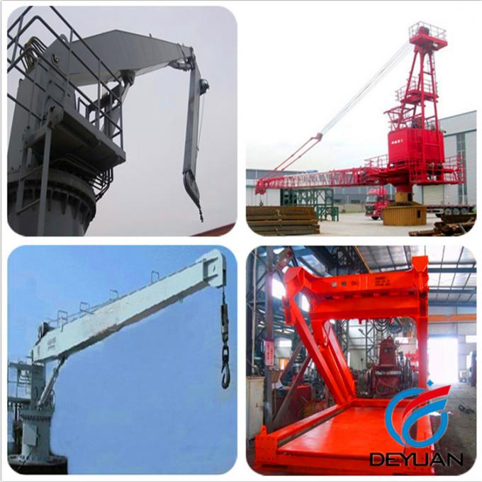 Marine Electric-Hydraulic Knuckle Boom Offshore Cranes Type KBS