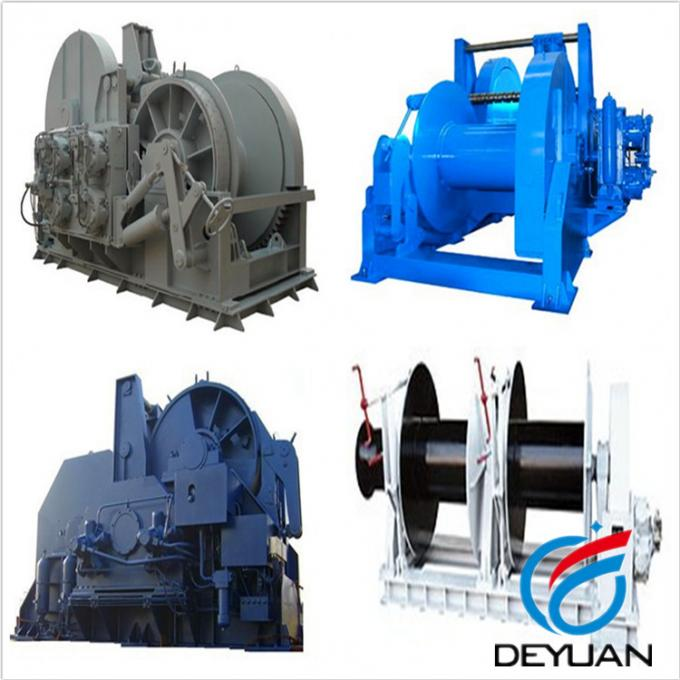 1000 KN High Speed Electric Winch With Water Fall Configuration