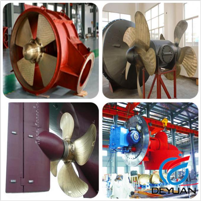 Controllable Pitch Marine Propulsion Systems Tunnel Thruster