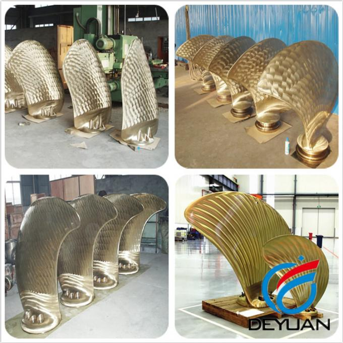 Aluminum Marine Propulsion Systems With Dull Polishing Processing