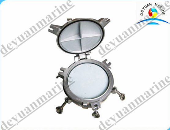 A60 Aluminum Fireproof Side Ship Hatch Cover Scuttle / Porthole Window