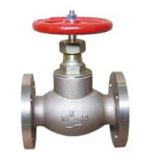 Bronze Screw Downone Way Check Valve / Non Return Valve For Marine Usage