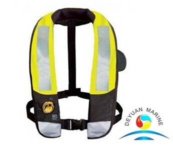 Life Saving Nylon Waterproof Automatic Inflatable Life Jackets For Adult