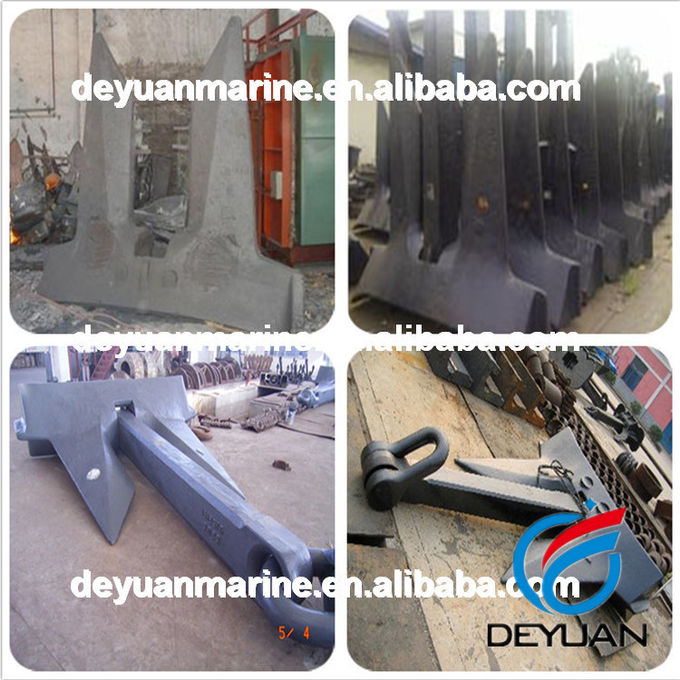 Stockless Anchor Marine Mooring Equipment Bulwark - Mounted Closed Chocks